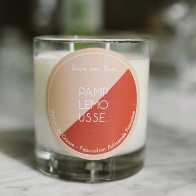 Bougie Parfumée Rose des Bois Taille L